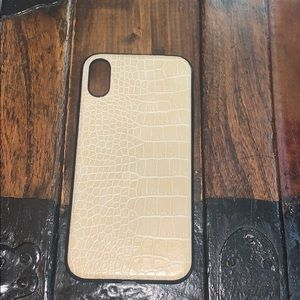 Snake skin Iphone xr case